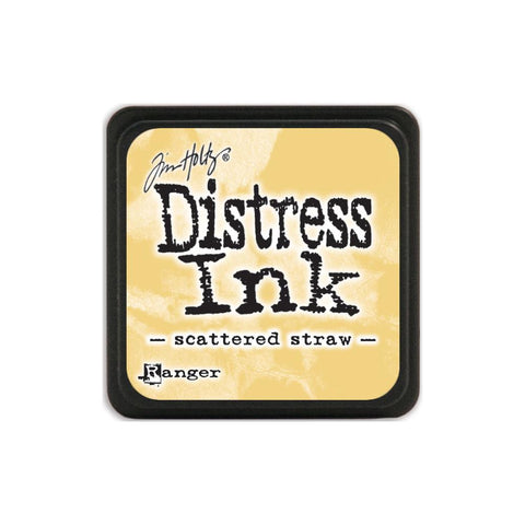 Tim Holtz Ranger Distress MINI Ink Pad - Scattered Straw - Hallmark Scrapbook