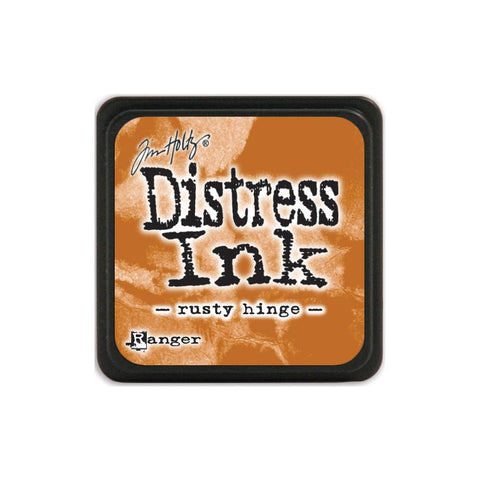 Tim Holtz Ranger Distress MINI Ink Pad - Rusty Hinge - Hallmark Scrapbook