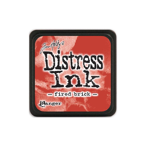 Tim Holtz Ranger Distress MINI Ink Pad - Fired Brick - Hallmark Scrapbook