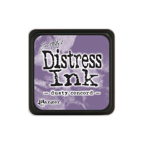 Tim Holtz Ranger Distress MINI Ink Pad - Dusty Concord - Hallmark Scrapbook