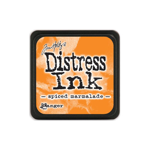 Tim Holtz Ranger Distress MINI Ink Pad - Spiced Marmalade - Hallmark Scrapbook