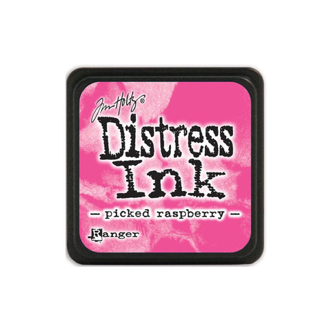 Tim Holtz Ranger Distress MINI Ink Pad - Picked Raspberry - Hallmark Scrapbook