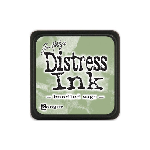Tim Holtz Ranger Distress MINI Ink Pad - Bundled Sage - Hallmark Scrapbook