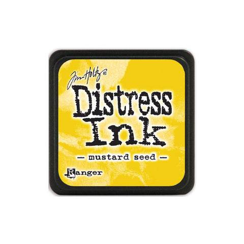 Tim Holtz Ranger Distress MINI Ink Pad - Mustard Seed - Hallmark Scrapbook