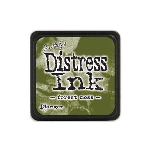 Tim Holtz Ranger Distress MINI Ink Pad - Forest Moss - Hallmark Scrapbook