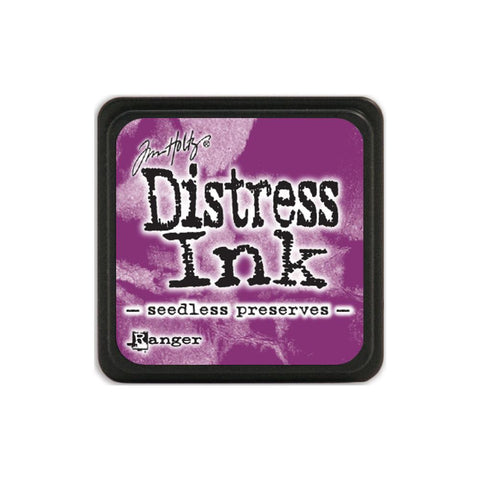 Tim Holtz Ranger Distress MINI Ink Pad - Seedless Preserves - Hallmark Scrapbook