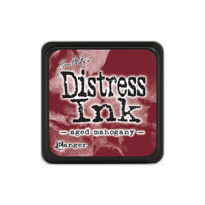 Tim Holtz Ranger Distress MINI Ink Pad - Aged Mahogany