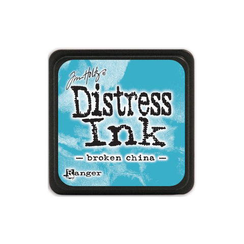Tim Holtz Ranger Distress MINI Ink Pad - Broken China - Hallmark Scrapbook