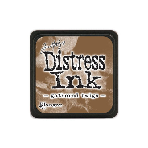 Tim Holtz Ranger Distress MINI Ink Pad - Gathered Twigs - Hallmark Scrapbook