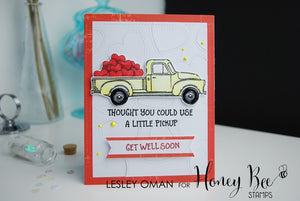 Honey Bee Stamps - LITTLE PICKUP - Clear Stamps