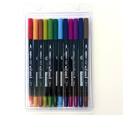 Art Impressions - Marvy LePlume II Watercolor Markers - JODY'S CHOICE