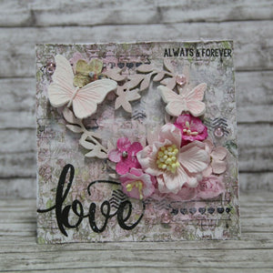 Pink & Main - TRUE LOVE - Stamp set - Hallmark Scrapbook - 6
