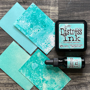 Tim Holtz Ranger Distress Ink Pad - SALVAGED PATINA