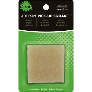 "iCraft - ADHESIVE PICK-UP Eraser/Remover 2""x2"""