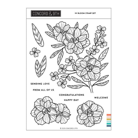 Concord & 9th - IN BLOOM - Stamps Set