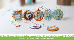 Lawn Fawn - SCALLOPED CIRCLE GIFT TAG - Lawn Cuts Die