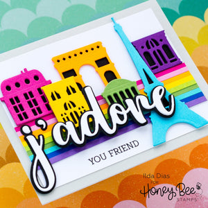 Honey Bee - ADORE - Stamps Set