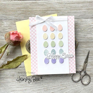 Honey Bee - ITTY BITTY EGGS - Dies Set