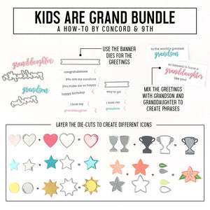Concord & 9th - KIDS ARE GRAND - Stamps Set