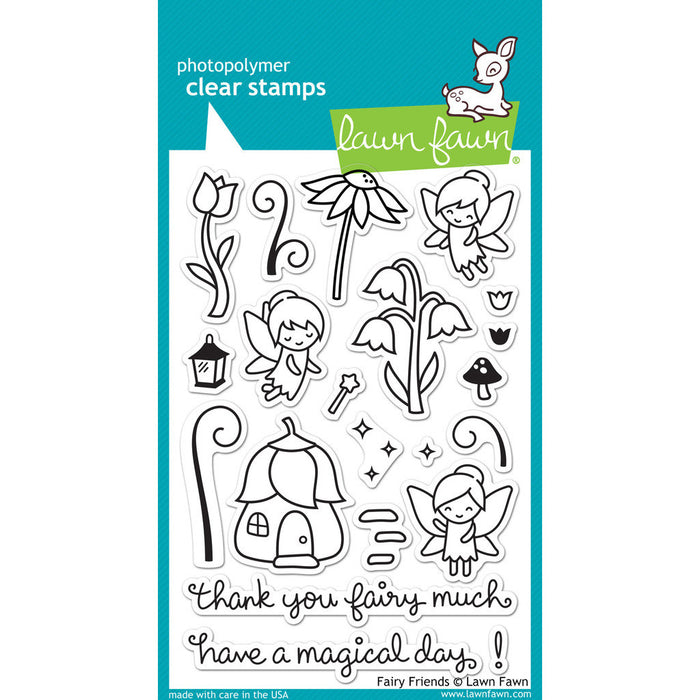 Lawn Fawn - FAIRY FRIENDS - Clear STAMPS