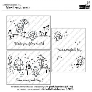 Lawn Fawn - FAIRY FRIENDS - Clear STAMPS - Hallmark Scrapbook - 2