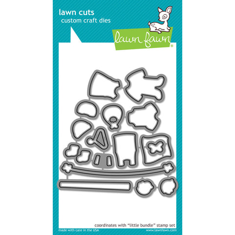 Lawn Fawn - LITTLE BUNDLE - Lawn Cuts DIES - Hallmark Scrapbook - 1