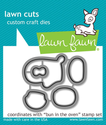 Lawn Fawn - BUN IN THE OVEN - LAWN CUTS Dies