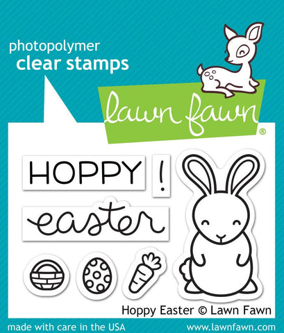 Lawn Fawn - HOPPY EASTER - Stamp Set