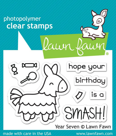 Lawn Fawn - Year Seven - CLEAR STAMPS