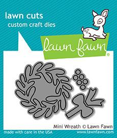 Lawn Fawn - MINI WREATH - Lawn Cuts DIES