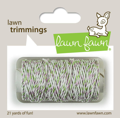 Lawn Fawn - Hemp Cord - Lawn Trimmings MEADOW SPARKLE *