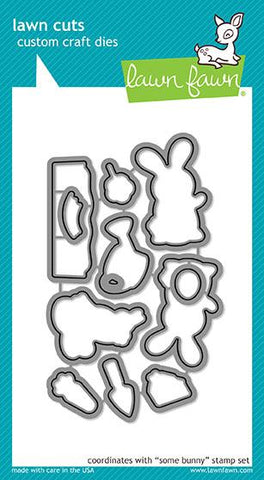 easter party clear stamp Lawn Fawn