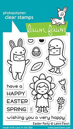 Lawn Fawn - EASTER PARTY - Clear Stamps Set