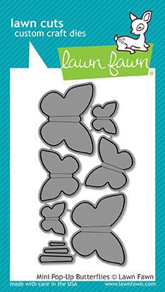 Lawn Fawn - MINI POP-UP BUTTERFLIES - Lawn Cuts DIES