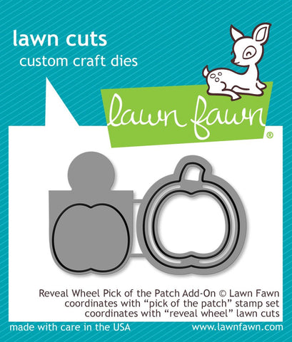 Lawn Fawn - REVEAL WHEEL PICK OF THE PATCH ADD-ON - Die set (Pre-Order - Available Aug 23rd)