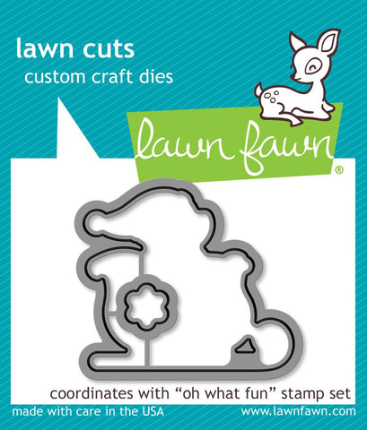 Lawn Fawn - OH WHAT FUN - Die set (Pre-Order - Available Aug 23rd)