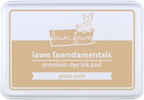 Lawn Fawn - PIZZA CRUST - Premium Dye Ink Pad Fawndamentals (Pre-Order - Available Aug 23rd)