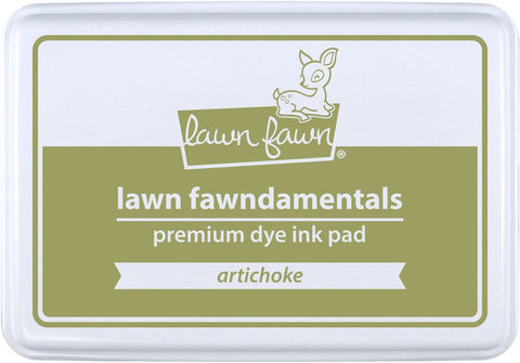 Lawn Fawn - ARTICHOKE - Premium Dye Ink Pad Fawndamentals (Pre-Order - Available Aug 23rd)