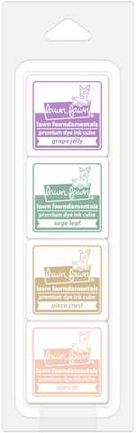 "Lawn Fawn - SECRET GARDEN - 1"" Ink Cube Pack Fawndamentals"