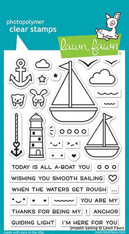 Lawn Fawn - Smooth Sailing - Stamp Set