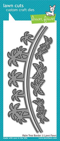 Lawn Fawn - Palm Tree BORDER - Die Set