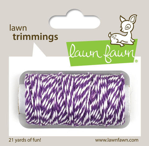 Lawn Fawn - Hemp Cord - Lawn Trimmings EGGPLANT