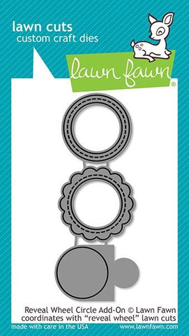Lawn Fawn - Reveal Wheel CIRCLE Add-ON - Lawn Cuts Dies
