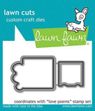 Lawn Fawn - LOVE POEMS - Lawn Cuts Die