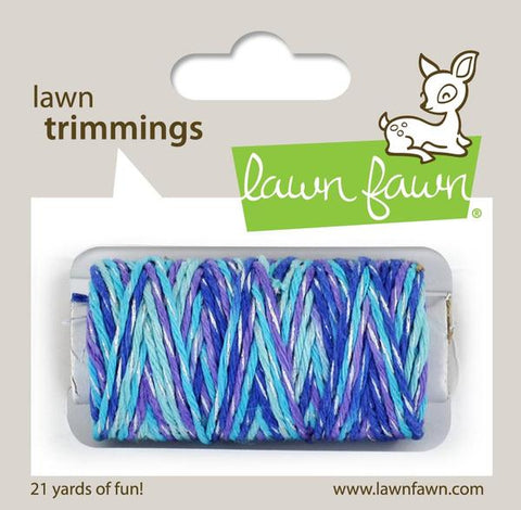 Lawn Fawn - Hemp Cord - Lawn Trimmings MERMAIDS LAGOON Sparkle - Pre-Order