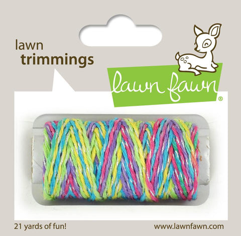 Lawn Fawn - Hemp Cord - Lawn Trimmings UNICORN TAIL Sparkle