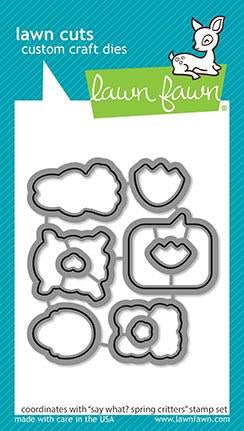Lawn Fawn - SAY WHAT? SPRING CRITTERS - Die Set - 25% OFF!