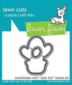 Lawn Fawn - YEAR TEN - CACTUS - Die Set - Pre-Order