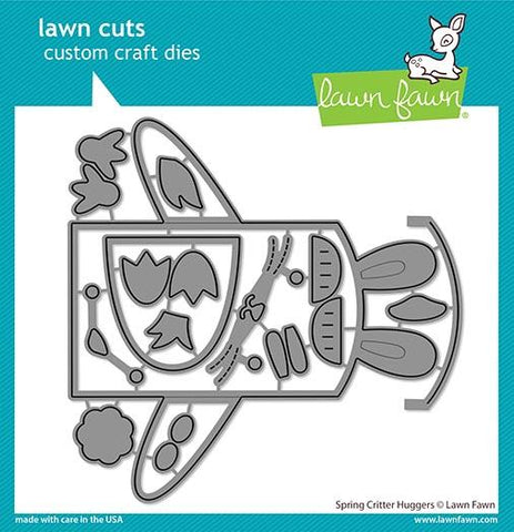 Lawn Fawn - SPRING CRITTER HUGGERS - Die Set - 20% OFF!