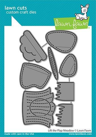 Lawn Fawn - LIFT THE FLAP MEADOW - Die Set - 20% OFF!